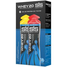 SiS Whey20 Protein Snack Box 4x78ml Lemon Strawberry